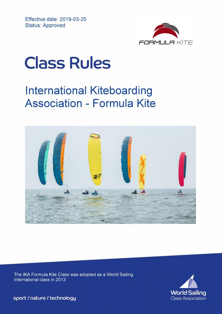 0001 725x1024 - انتشار قوانین و مقررات 2019 فرمولا کایت توسط World Sailing