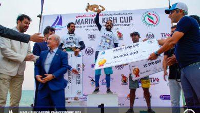 ADN2932 390x220 - کایت بردینگ ایران اولین قهرمانان خود را در جام مارینا کیش شناخت