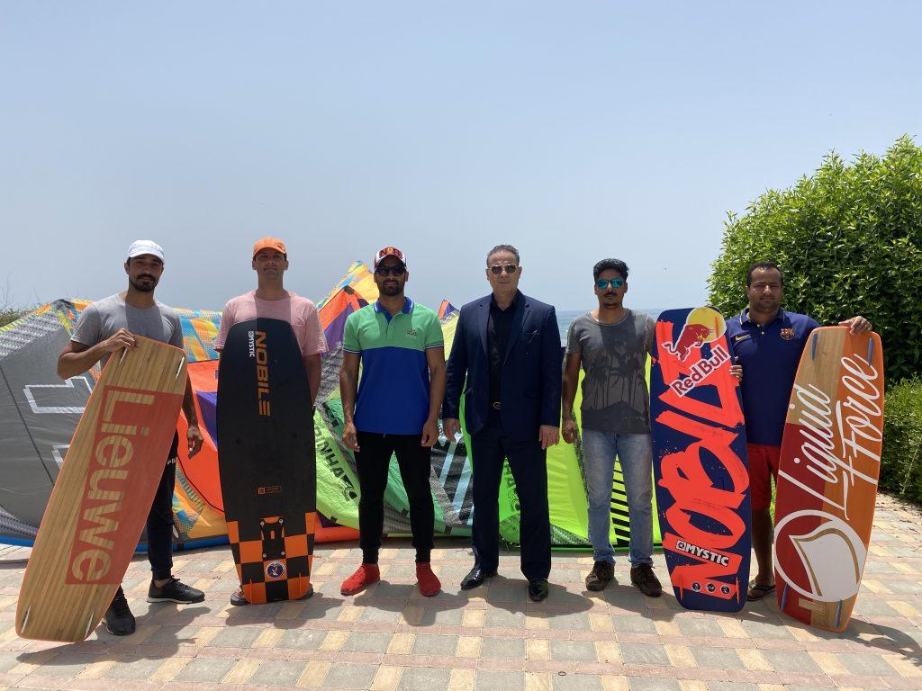 IMG 1572 1024x768 - نخستین مرحله اردوی آموزشی تمرینی کایت بردینگ سال 99 جامعه سیلینگ خلیج فارس در قشم برگزار شد